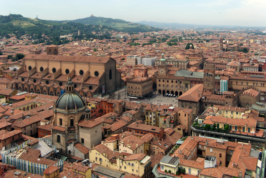 wiew of Bologna